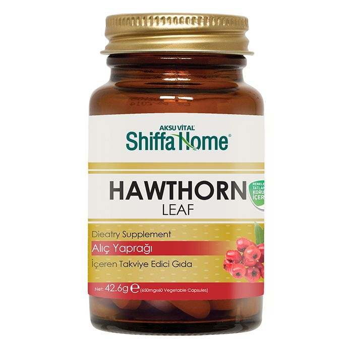 Hawthorn Capsule protect blood vessels supplement