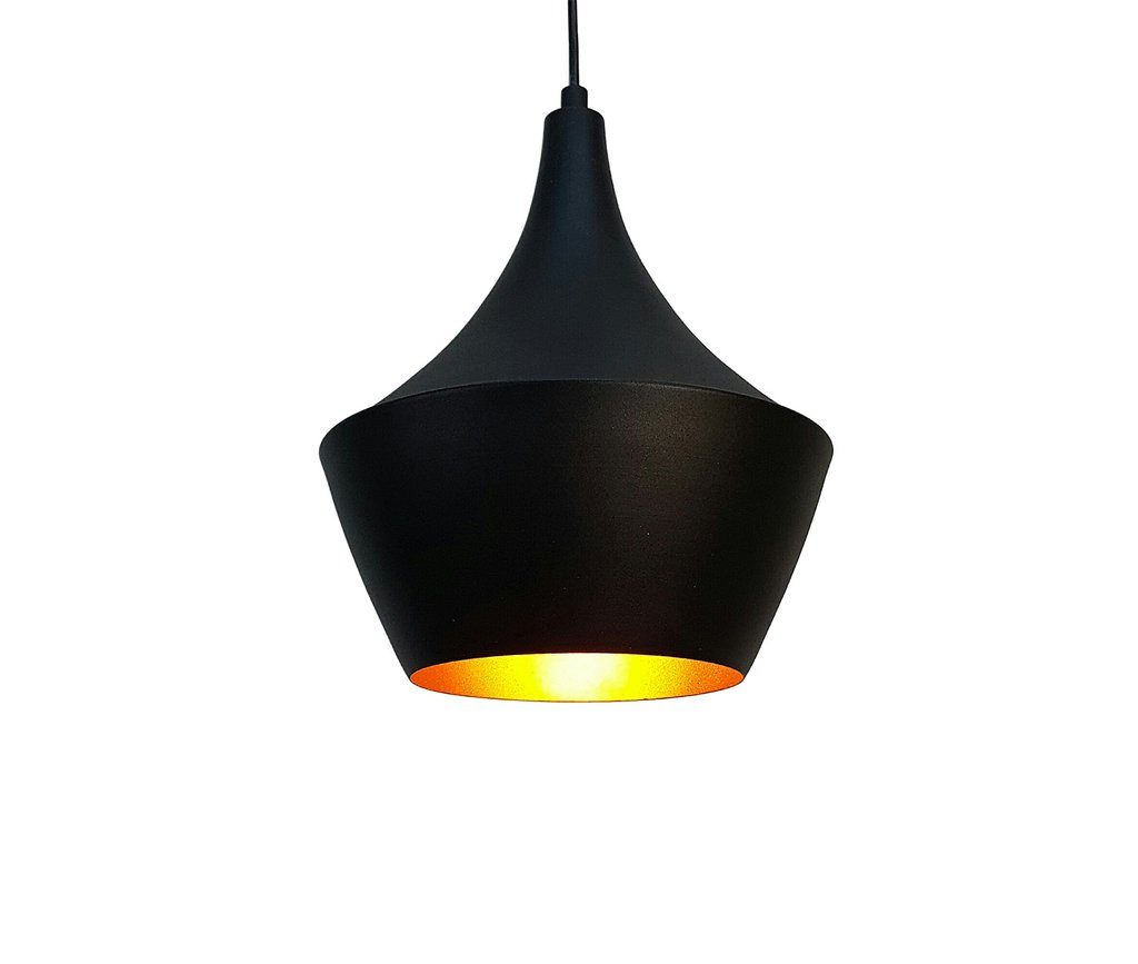 Angled Metal Suspended Light