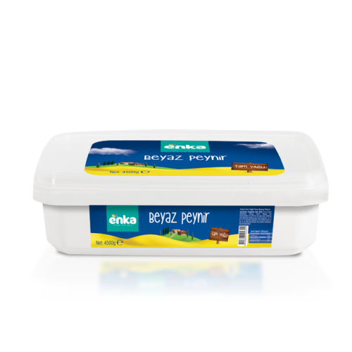 Whole White Cheese 4,5 kg.