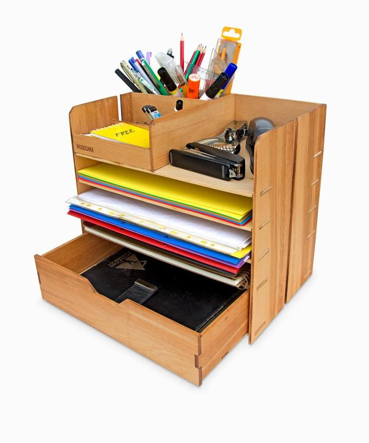 OfficePRO X2 All-in-One Desktop Organizer with Drawer