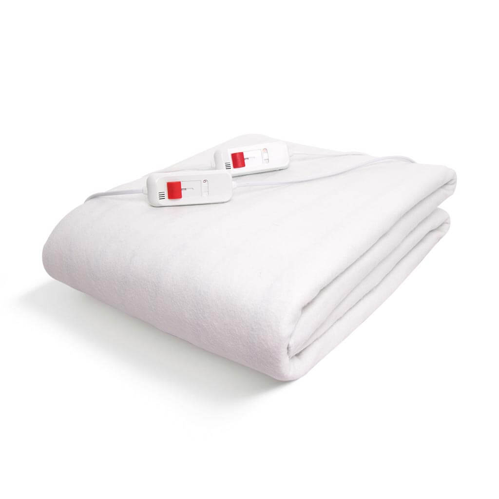 Dual Electric Blanket W/Two Controls