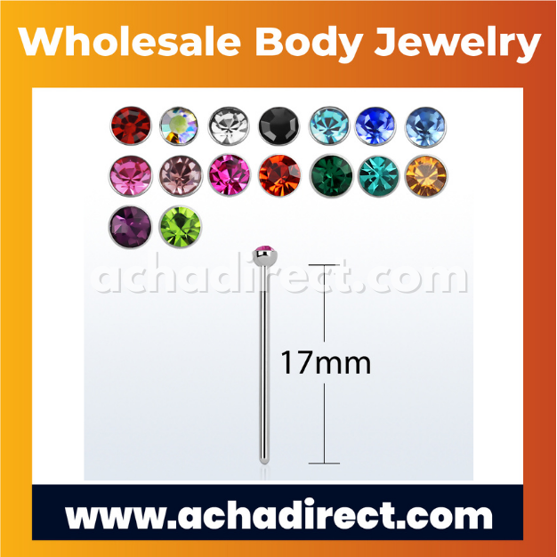 Wholesale Surgical Steel Nose Stud   Acha