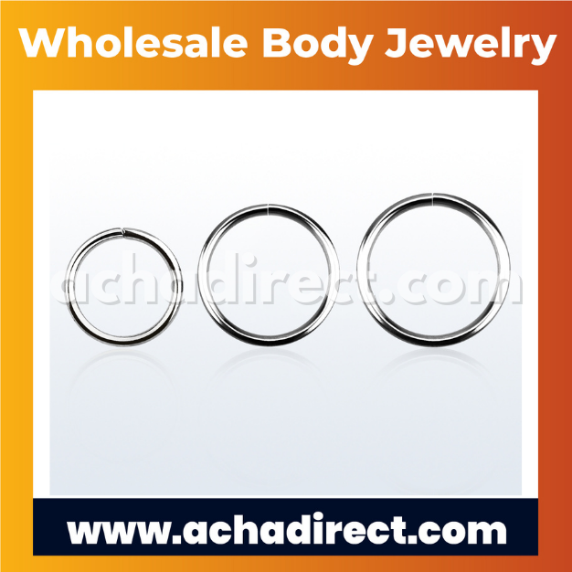 Wholesale 925 Silver Seamless Ring   Acha