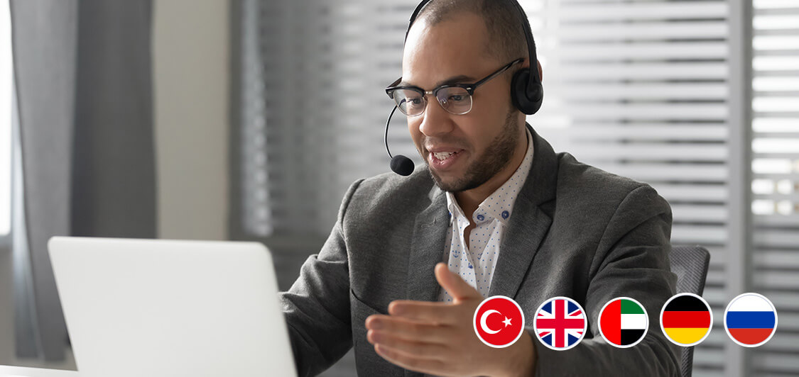 translation services in 5 languages